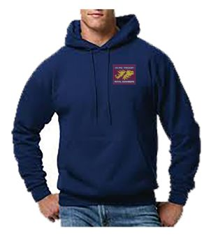 Fl Troop Embroidered Hoodie